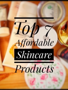 Affordable skin products